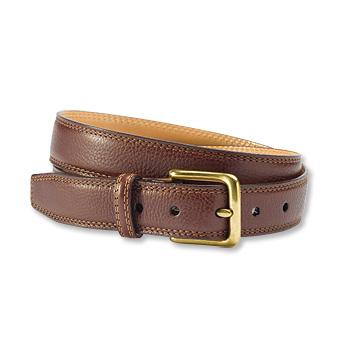 Full-Grain Italian Leather Strap Belt - Orv