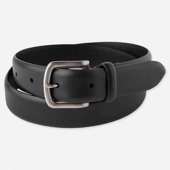 MEN Italian Leather No Stitched Belt - Belts - HOMEWEAR .