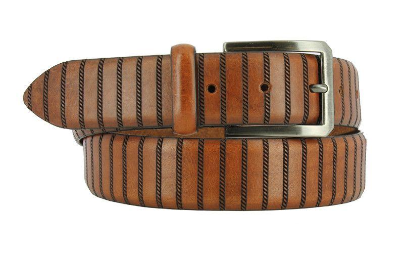 DARA : Tan Italian Leather Belt | Leather belts, Belt, Mens .