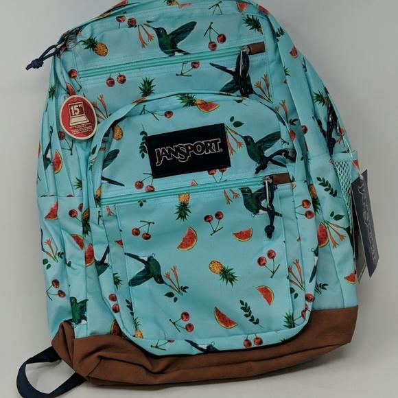Jansport Bags   Backpack Bird Design   Poshma