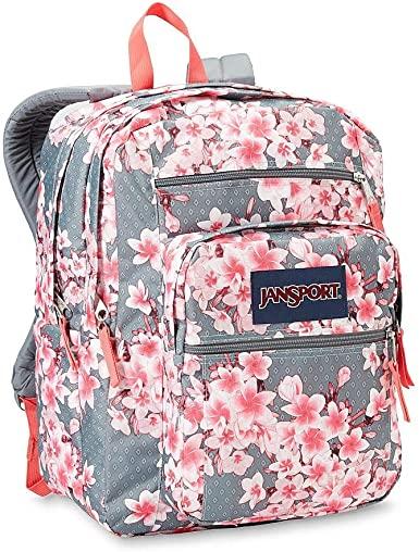 Amazon.com   Big Student Floral Design - Diamond Plumeri Backpack .