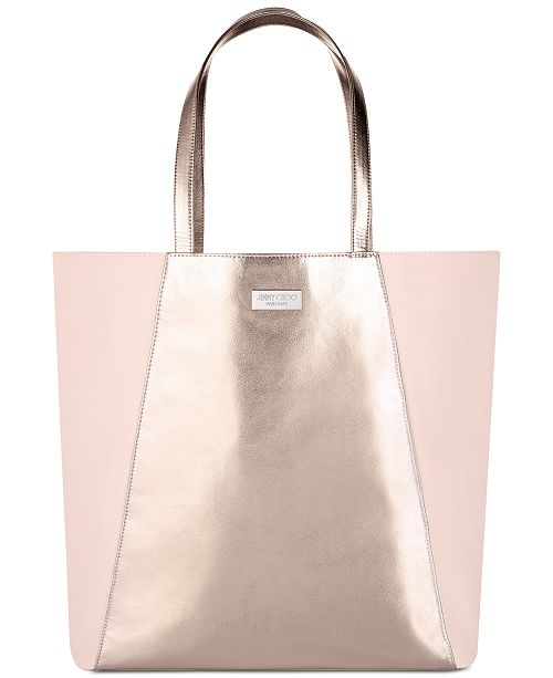Jimmy Choo Receive a Complimentary Tote Bag with any large spray .
