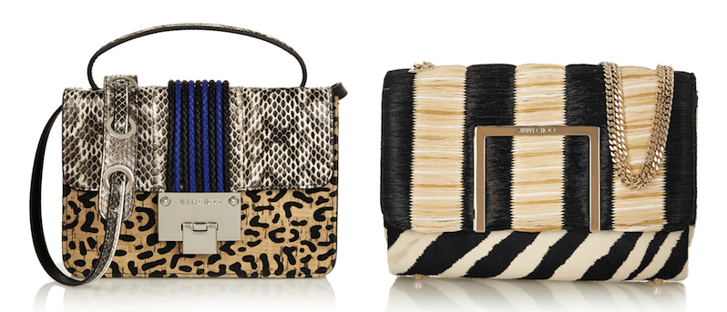 Jimmy Choo Rebel and Alba Bags: Frisky Busine