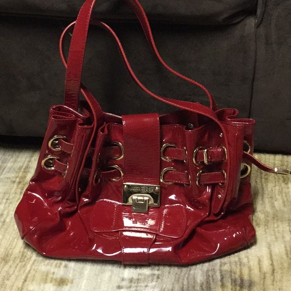 Jimmy Choo Bags | Jimmy Cho Red Purse Perfect For A Vday Gift .