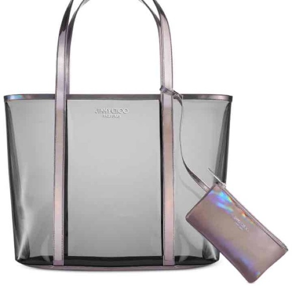 Jimmy Choo Bags | Clear Tote Bag Purse New | Poshma