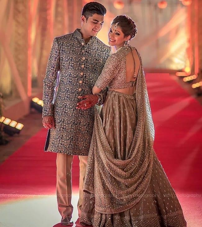 Latest Designer Wedding Sherwani Patterns for Indian Groom .