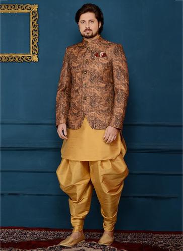 Kesari Exports Wedding Jodhpuri Style Designer Outfit For Grooms .