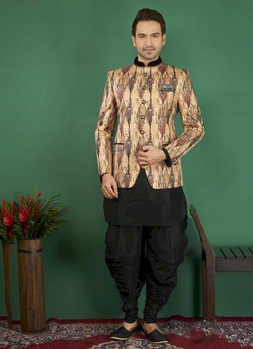 Jodhpuri Style Designer Royal Looks Sherwani - Mode