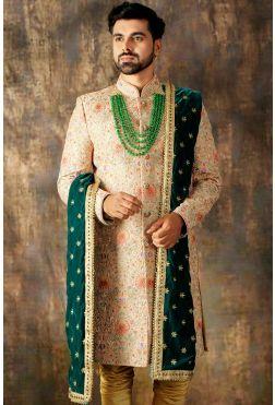 Sherwani | Jodhpuri Sherwani | Wedding sherwani |Samyakk .
