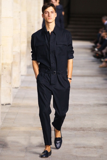 Spring/summer 2018 new men jumpsuits overalls conjoined pants .