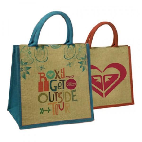Small Wholesale Reusable Jute Bags | Promotional Jute Tot