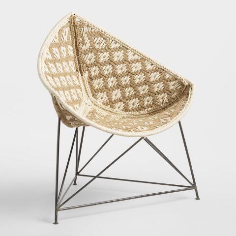 Jute Triangle Chair | World Mark