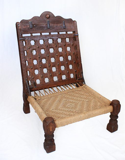 Jute Wood Folding Chair For Both Outdoors and Indoors | Jute .