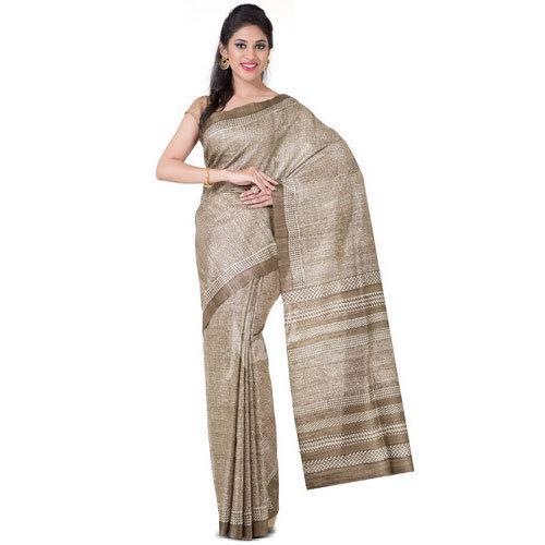 Plain Ladies Jute Saree, 5.5 M (separate Blouse Piece), Rs 785 .