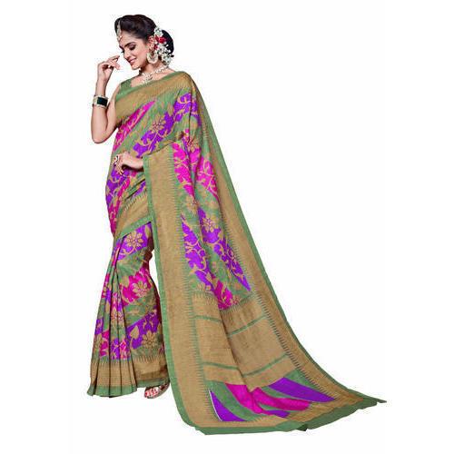 Designer Jute Saree with Blouse Piece, Saree Length: 6.3 m, Rs 350 .