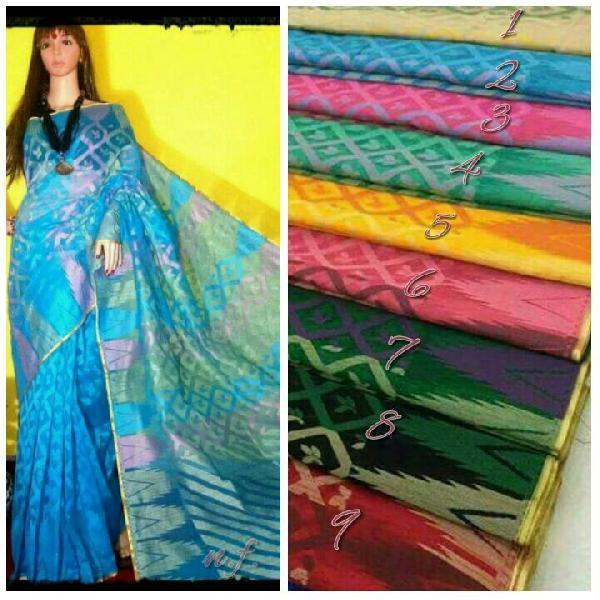 Cotton Jute Sarees Manufacturer in Varanasi Uttar Pradesh India by .