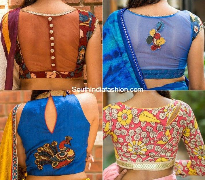 Kalamkari blouse designs that will leave you awestruck! – South .