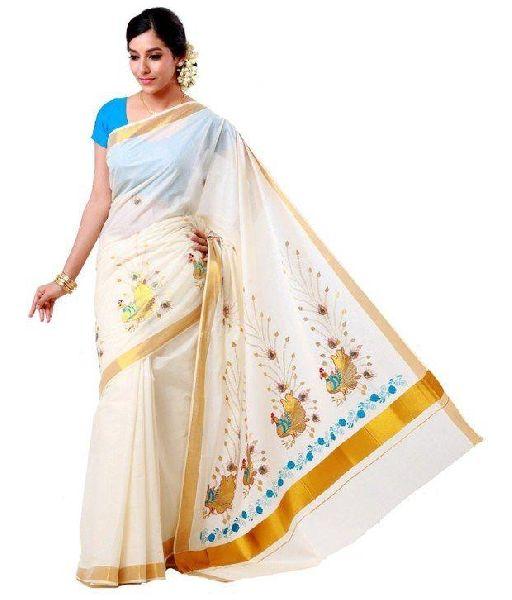 kerala cotton sarees Manufacturer in Salem Tamil Nadu India by .
