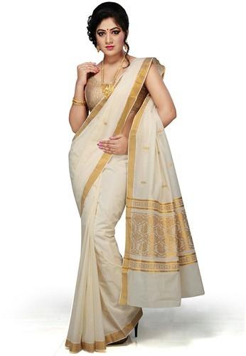 Kerala Cotton Sarees at Rs 400/number | Kerala Cotton Saree | ID .