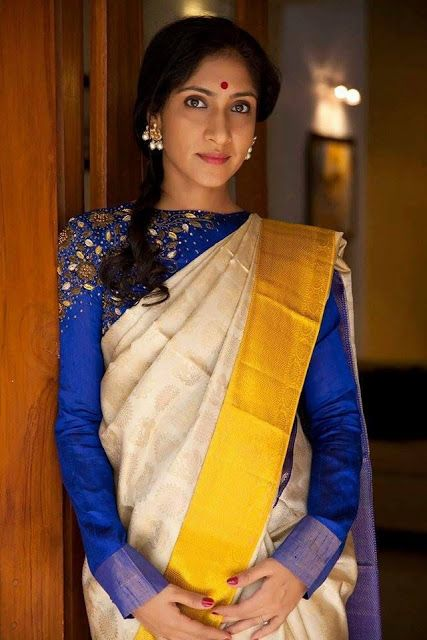 35 Gorgeous Kerala Saree Blouse Designs to try this year in 2020 .