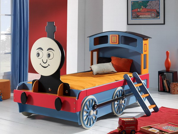 22 Cool and Unusual Kids Bed Desig