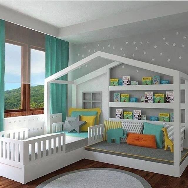 Kids Bedroom Ideas & Designs | Kinder zimmer, Kleinkind zimmer .
