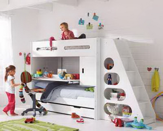 Creative Bed Designs for Kids Bedroom_12 - Stylish E