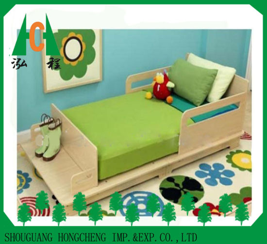 China Cheapest Simple Melamine Particle Board MDF Kids Bed Design .