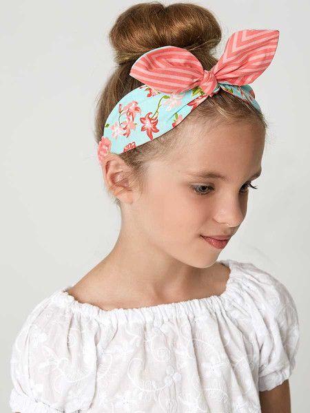 HEADBANDS Sewing Pattern - GIRLS & ADULT | Headband pattern, Retro .