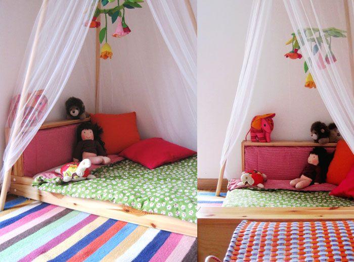 Consider A Floor Bed (mit Bildern) | Kleinkinderbett, Bodenbetten .