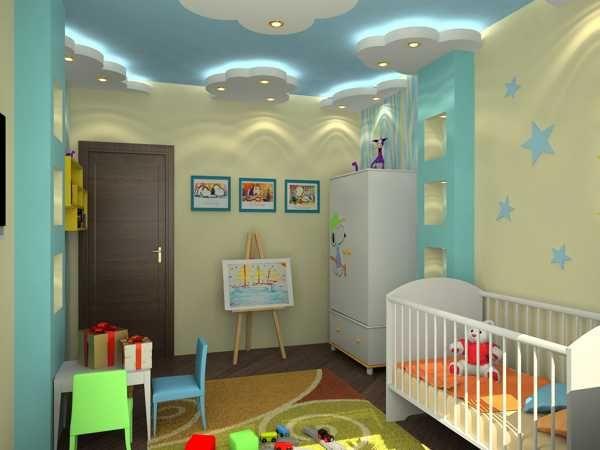 Kids Room Ceiling Designs