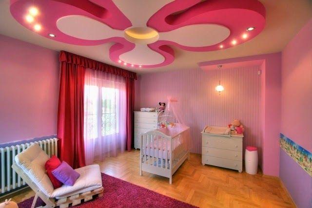 kids room false ceiling design with decorative ceiling lights .