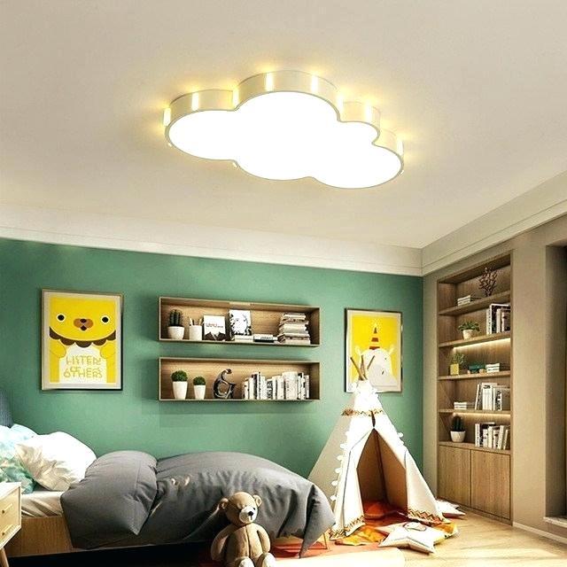 Modern Kids Room Ceiling Design Decor New Cloud Chandelier For .