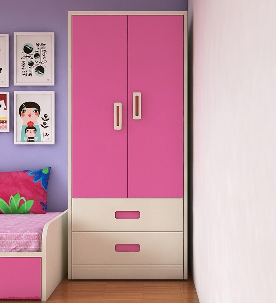 10 Cool Kids Wardrobe Designs With Pictures In Ind