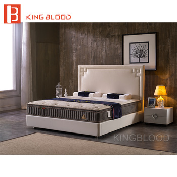 Modern Solid Wood King Size Queen Size Latest Double Bed Desig