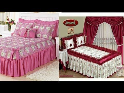 50 Top Class Designer Bed sheets Designs/Bridal Bedsheets /Regular .