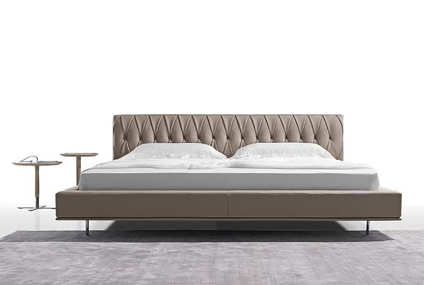 Modern Bed Frame at Cliff Young | The Harlequin King Size Platfo
