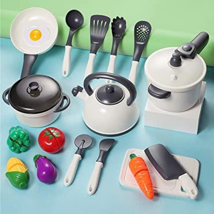 Amazon.com: iPlay, iLearn Kids Kitchen Accessories Playset .