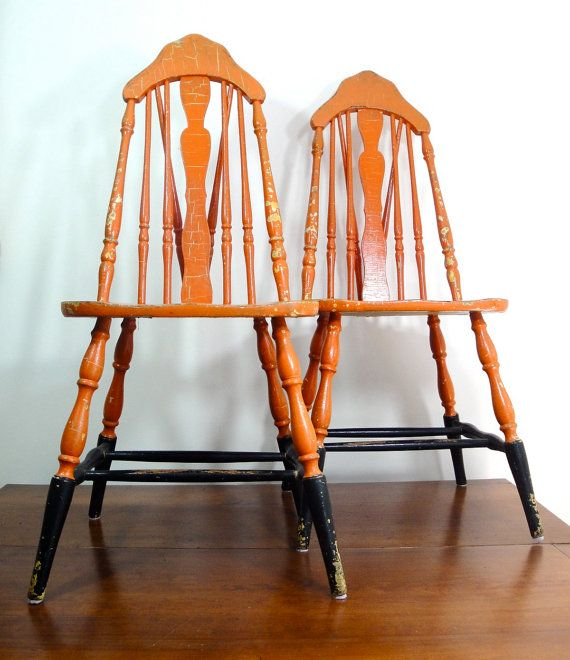 1930's Kitchen Chairs (With images) | Wooden chair makeover, Wood .