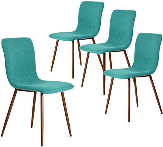 Amazon.com: Coavas Dining Chairs Set of 4, Kitchen Chairs with .