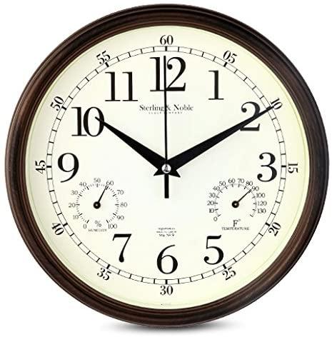 Amazon.com: 9 Inch Silent Wall Clocks Modern Designs with .