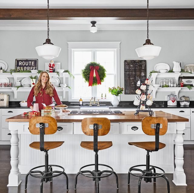 25 Christmas Kitchen Decorating Ideas - How to Decorate Your .