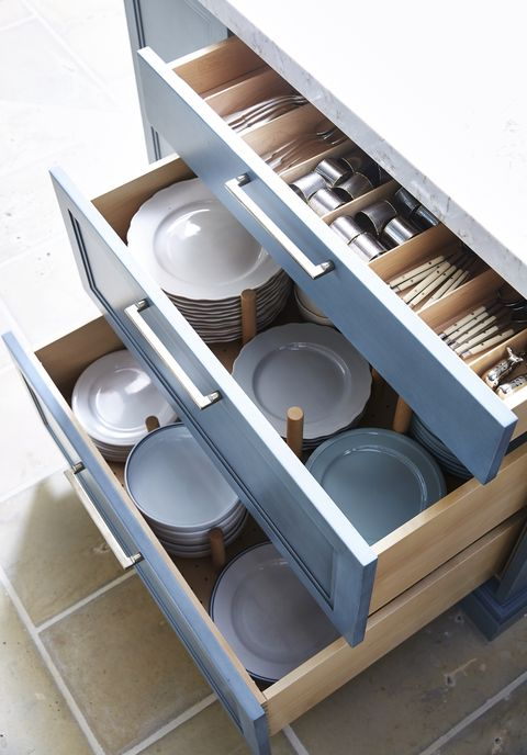 Kitchen Dish Drawer Systems Guide - Why Store Plates in Drawe