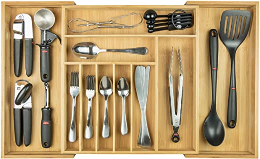 Amazon.com: KitchenEdge Premium Silverware, Flatware and Utensil .