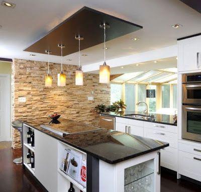Kitchen False Ceiling Designs