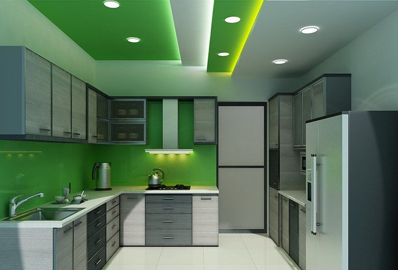 Living room | False Ceiling | Gypsum Board | Drywall | Plaster .