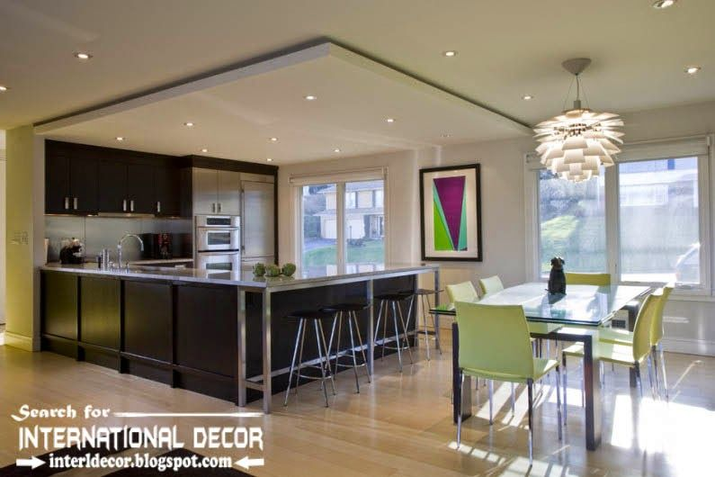 modern kitchen ceiling designs ideas lights, suspended ceiling for .