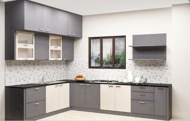 Modular L-Shaped Kitchen Designs Online In Bangalore | Kitchen .