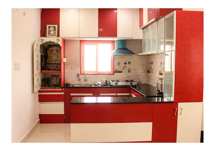 Kitchen Pooja Room Designs