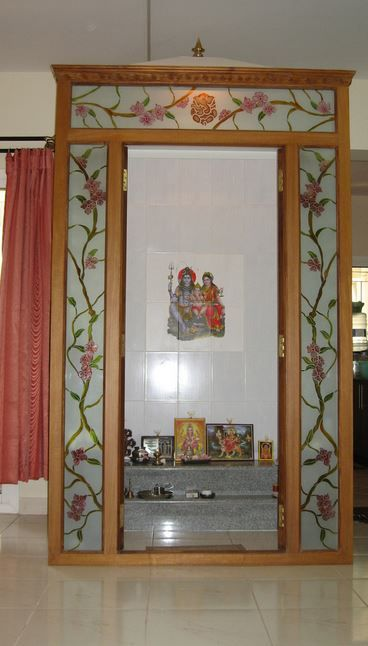Pooja Room Ideas in Small House | Pooja room door design, Room .